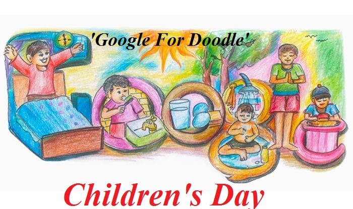 Google Doodle Childrens Day 1