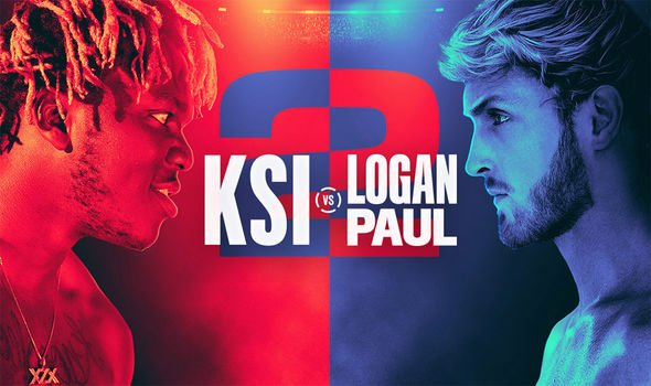 KSI vs Logan Paul 2 TV channel