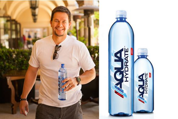 Wahlberg and Diddy Aquahydrate
