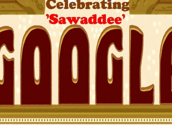 Google Doodle Celebrating the Sawaddee