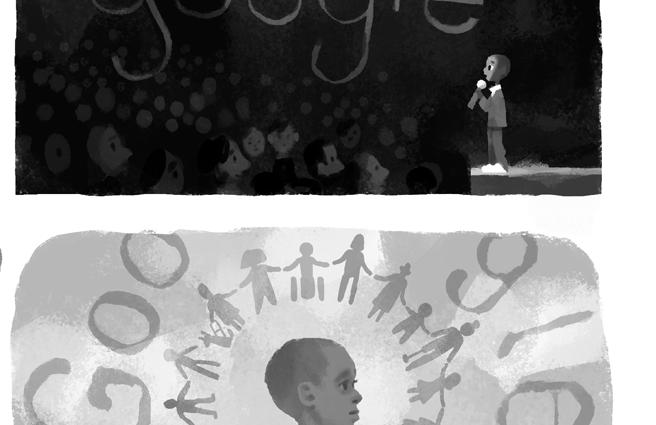 Google Doodle Celebrating Nkosi Johnson