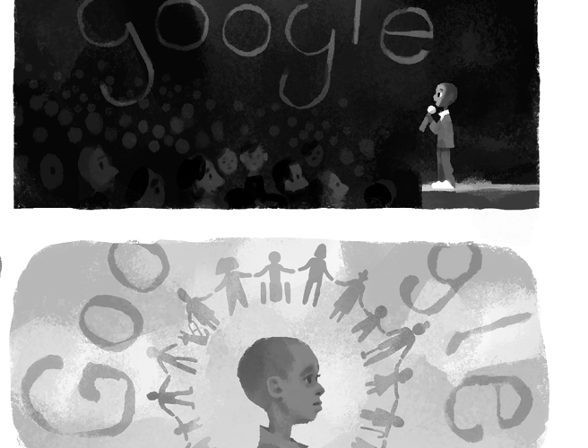 Google Doodle Celebrating Nkosi Johnson