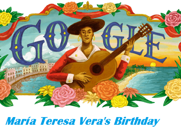 María Teresa Veras 125th birthday