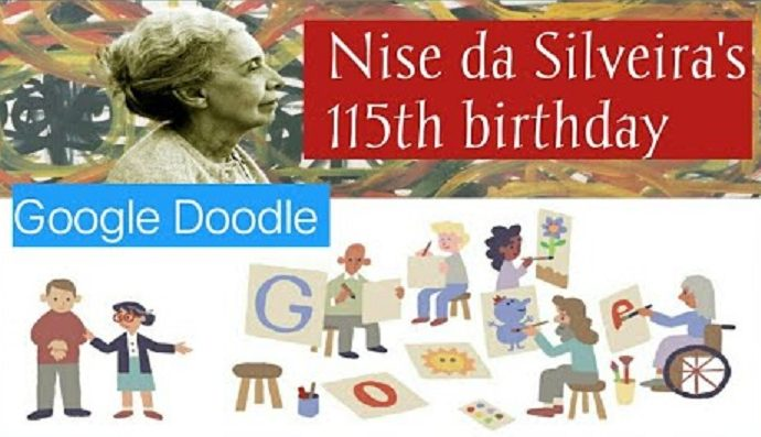 Nise da Silveiras 115th birthday 1