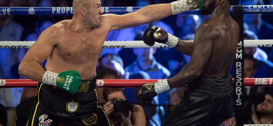 In July Tyson Fury and Deontay Wilder to finish set of three