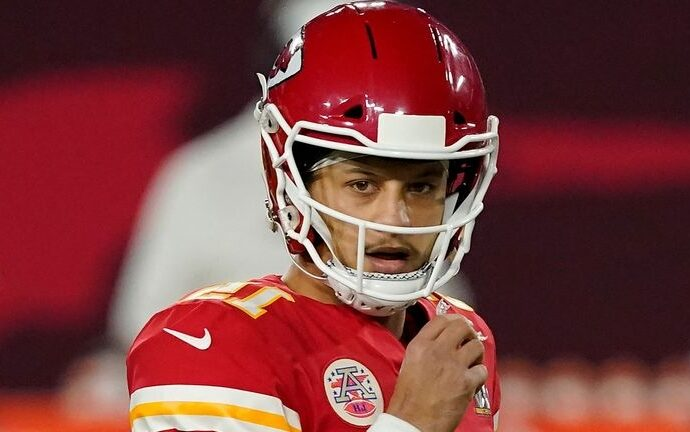 patrick mahomes kansas city chiefs quarterback states he is in advance of timetable in recovery from toe surgery 5864446